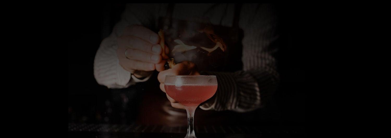 flaming drink mobile bar service