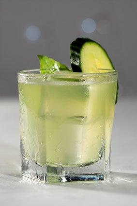 BEV034 - Gin Cucumber Basil Smash