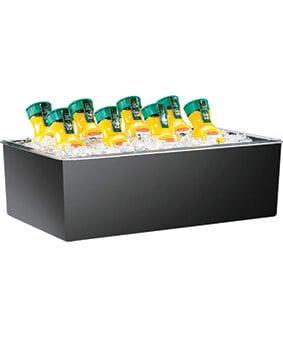Black Beverage Tub