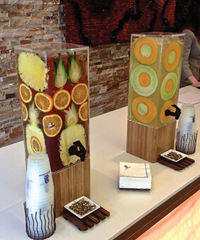 Decorative Wall Beverage Dispenser