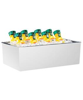 White Beverage Tub