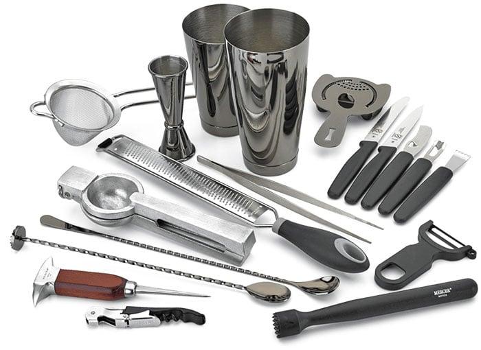 professional mixology class tools