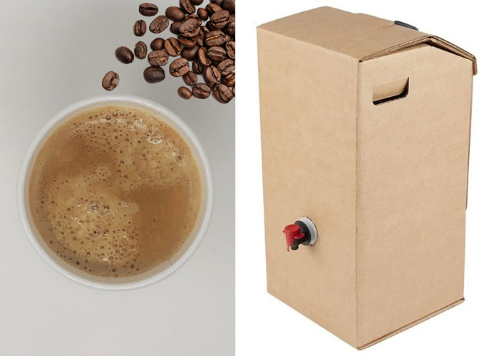 insulated disposable dispenser for coffee delivery toronto