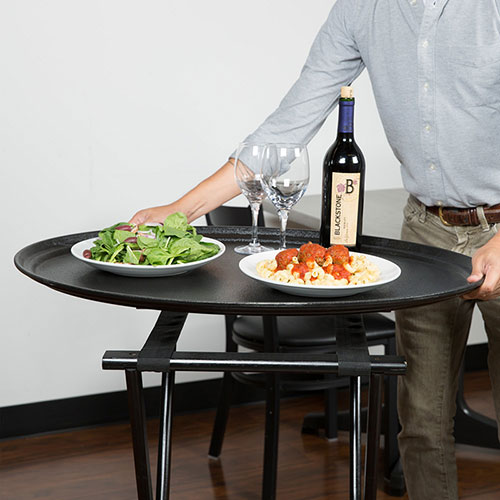 food-servers-for-party-using-serving-tray-in-toronto-ontario