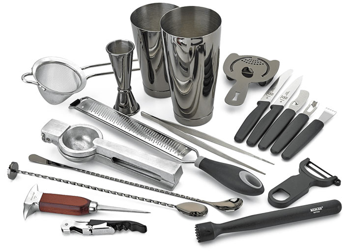 professional cocktail workshop class tools