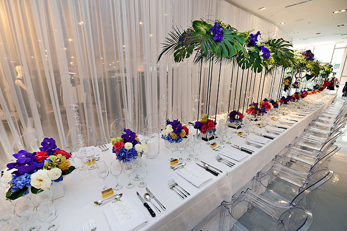 catering waitstaff table party rental setup