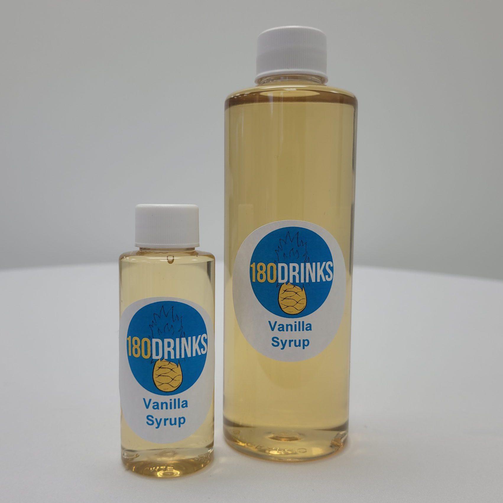 vanilla cocktail syrup