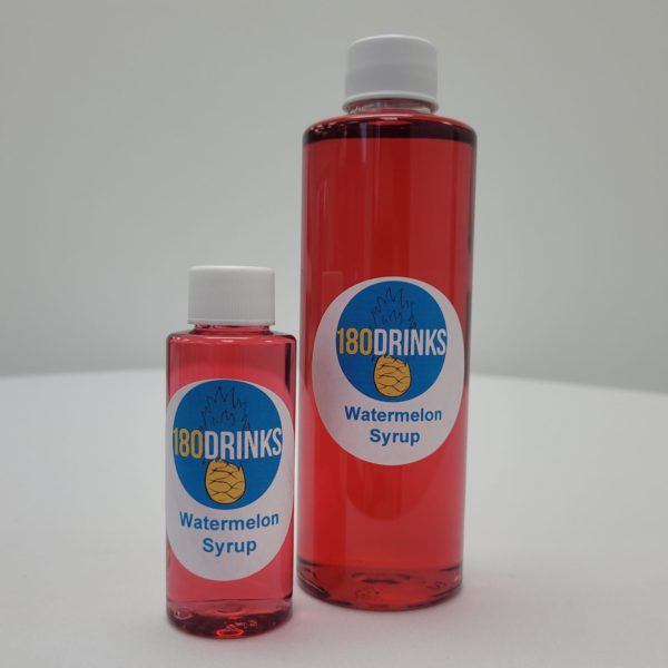 watermelon cocktail syrup