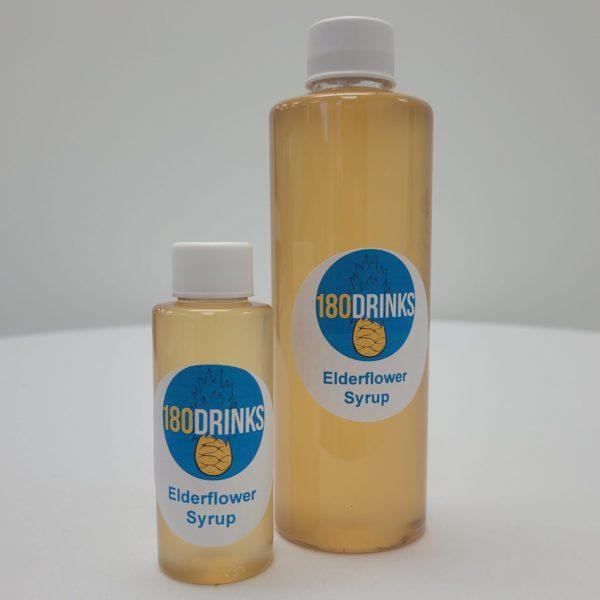 elderflower cocktail syrup