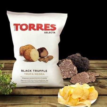 black truffle potato chips