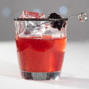 Blackberry With Bramble Syrup