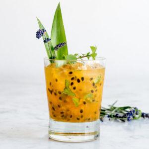 Lavender Passion Fruit Lemonade