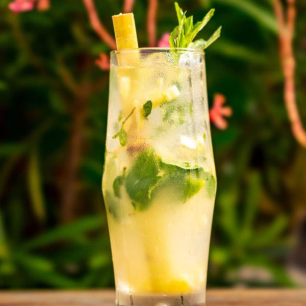 Mojito With Cane Syrup