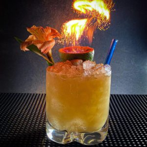 SOS Mai Tai With Orgeat Syrup