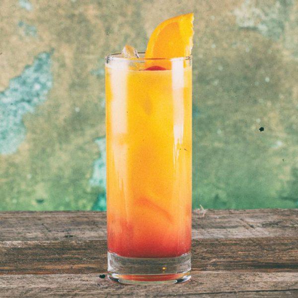 Tequila Sunrise With Grenadine