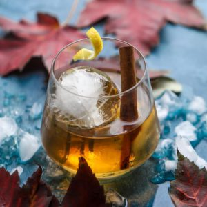 Maple Old Fashioned With Maple Syrup