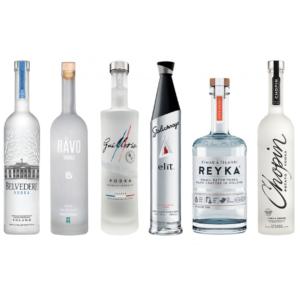 Virtual Vodka Tasting